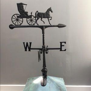 Vintage Horse & Buggy Weathervane